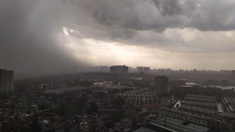 điều kiện hình thành bão
