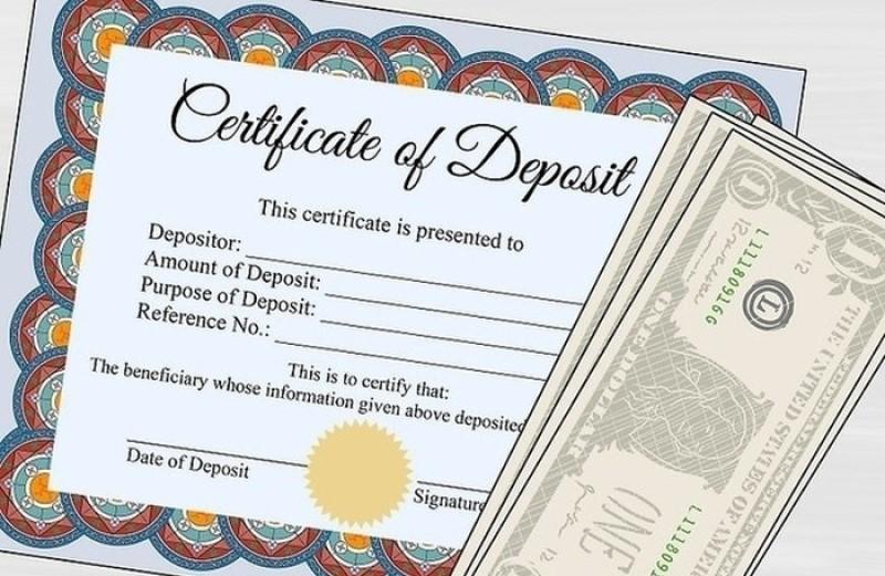 Certificate Of Deposit La Gi