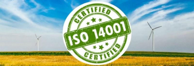 Iso 14001 Certificate La Gi